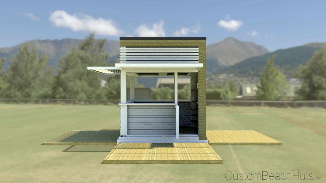 Image gallery hut designs for Beach hut design ideas